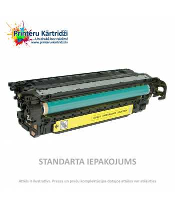 Картридж HP 504A Жёлтый (CE252A)