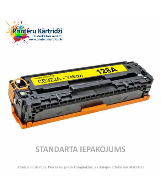 Kārtridžs HP 128A Dzeltens (CE322A)