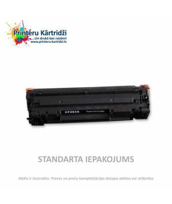 Картридж HP 83X Высокой ёмкости Чёрный (CF283X)
