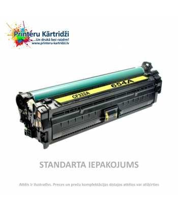 Картридж HP 654A Жёлтый (CF332A)
